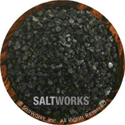 Salt Works Hiwa Kai Black Hawaiian Sea Salt, 9 oz