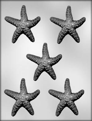 3in Starfish Chocolate Mold