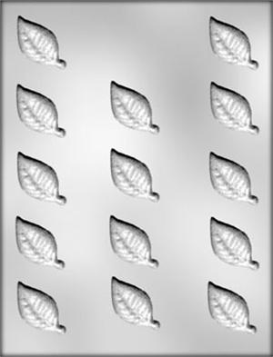 1in Leaf Chocolate Candy  Mold