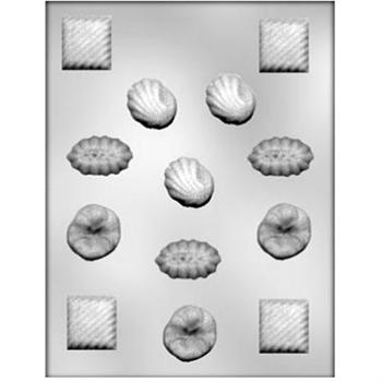 CK Products Assorted Fancy Shapes Chocolate Mold