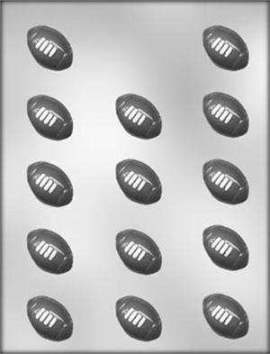 1in Football Chocolate Mold