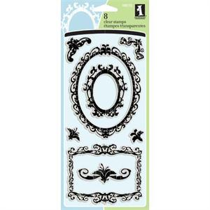 Inkadinkado Clear Stamp Ornamental Frames