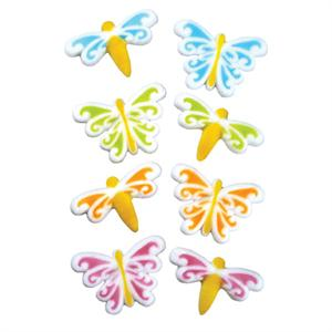 Lucks Butterfly & Dragonfly Asst. Sugar Decorations