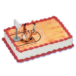 Girl's Basketball Cake Kit
