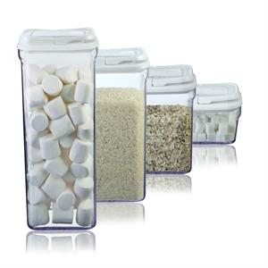 4 Piece Food Storage Container Set