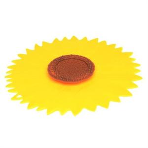 Medium Sunflower Design Silicone Lid And Splatter Guard
