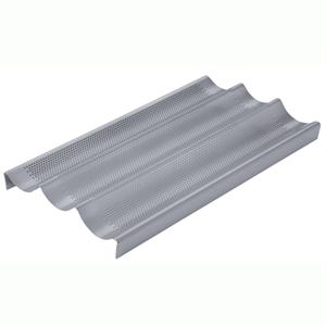 Chicago Metallic Commercial Non-Stick Perforated Baguette Pan