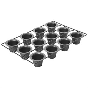 Chicago Metallic 12-Cup Mini Popover