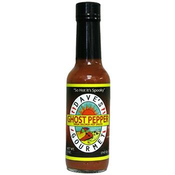 TBK Dave's Ghost Pepper Sauce, 5 Ounce