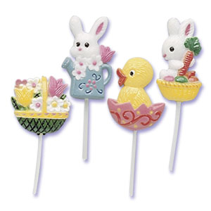 Bakery Crafts Easter Assortment Cupcake Picks