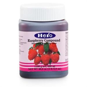 Hero Strawberry Fruit Compound - 2.68 Pounds