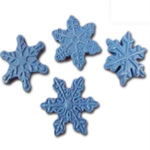 Silicone Snowflake Mold, Set of 4