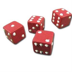 Silicone Dice Mold, Set of 4