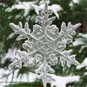 Silicone Large Snowflake Mold