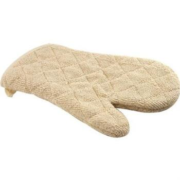Winco 17-in Terry Oven Mitt w/ Silicone Lining