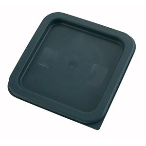 Winco PE Square Cover For 2 And 4 Quart Storage Containers