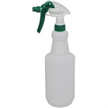 Winco Empty 28oz (900ml) Plastic Spray Bottle