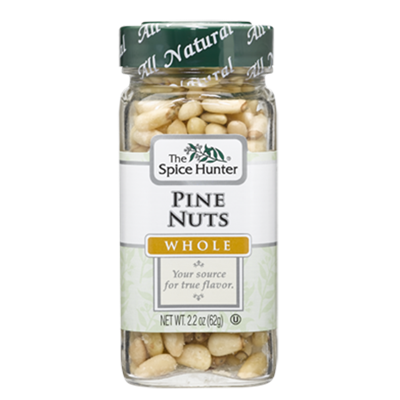 Spice Hunter Whole Pine Nuts, 2.2 Ounce Jar