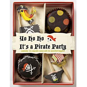 Pirate Themed Cupcake Kit