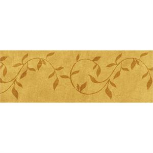 Leaf Scroll Side Cake Stencil 6in x 18in