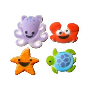 Lucks Sea Buddies Sugar Decorations