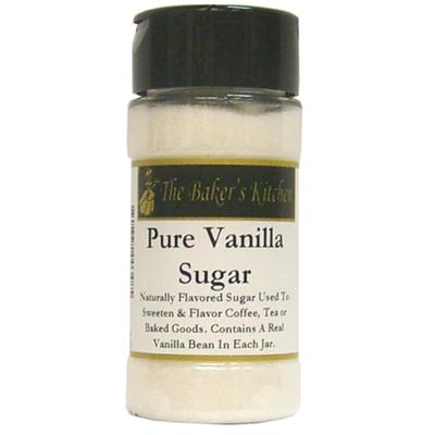 TBK Pure Vanilla Sugar 4oz Jar