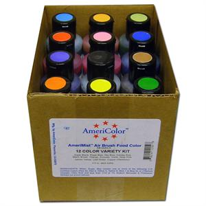 AmeriColor AmeriMist Airbrush Food Color Kit
