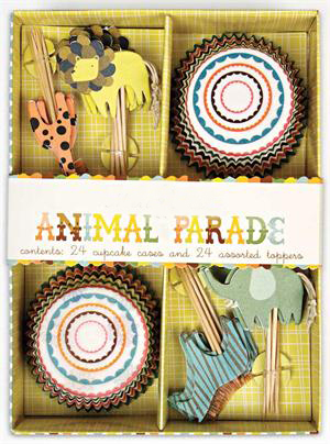 Jungle Animals Cupcake Kit