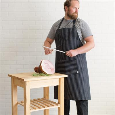 Now Designs Mighty Apron, Pinstripe Black