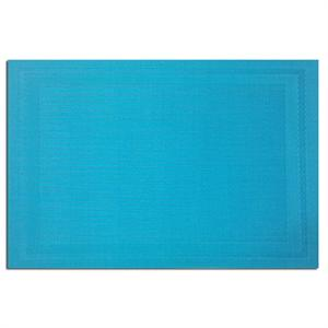 Pacific Merchants 17-in x 12-in Woven Placemat, Aqua