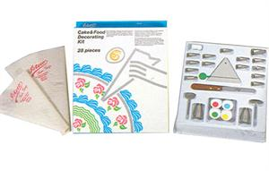 25 Piece Cake and Food Decorating Set
