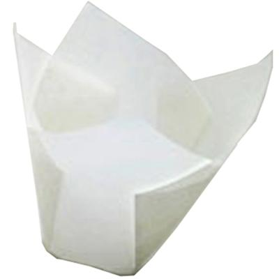 TBK White Tulip Baking Cups