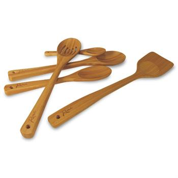 Roma By Weston Bamboo Mixing Spoons