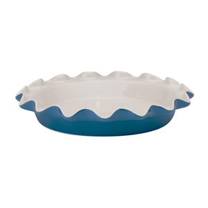Harold Imports Rose Levy Beranbaum's Rose's Perfect Pie Plate, Blue