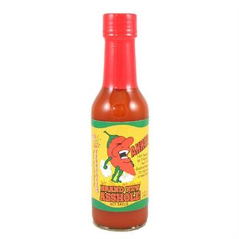 Brand New Asshole Hot Sauce, 5 Ounce