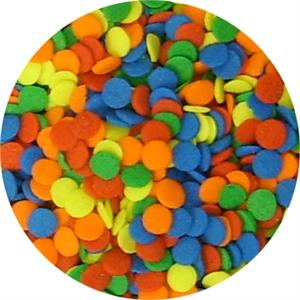 TBK Bright Confetti (large) Shaped Sprinkles