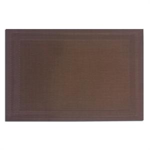 Pacific Merchants 17-in x 12-in Woven Placemat, Brown