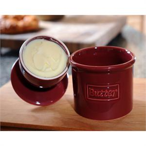Tremain Crimson Original Butter Bell Crock
