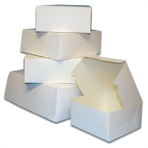 TBK White Food Safe Cake Boxes