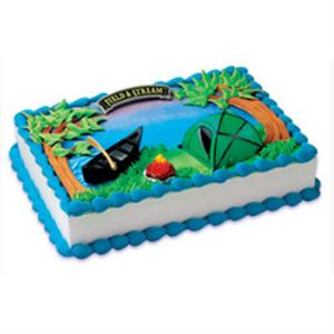 Bakery Crafts Field & Stream Camping Cake Kit