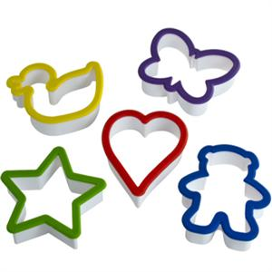 Kids 5 Piece Cookie Cutter Set