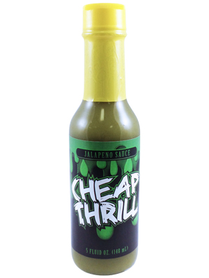 Cheap Thrill Jalapeno Sauce 5 oz.