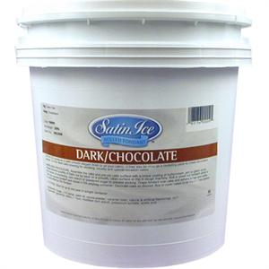 Satin Ice Dark Chocolate Rolled Fondant 20 Lb