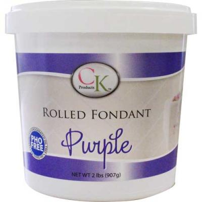 CK Products Purple Rolled Fondant