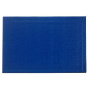 Pacific Merchants 17-in x 12-in Woven Placemat, Cobalt Blue