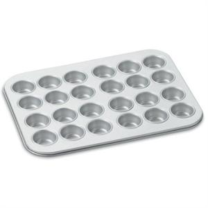 24 Cup Mini Muffin Pan Champagne Finish