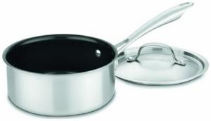 Cuisinart GreenGourmet Tri-Ply 2-qt. Saucepan with Cover