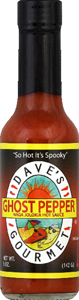 Dave's Ghost Pepper Sauce 5 oz.