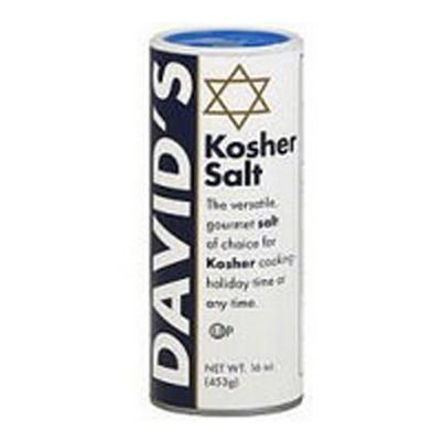 David's Kosher Salt - 16 Ounce Jar