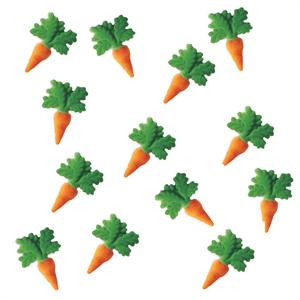Carrots Sugar Decorations